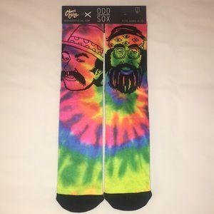Odd Sox Cheech And Chong Socks Multi-Color